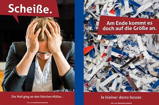 Datenschutz Poster